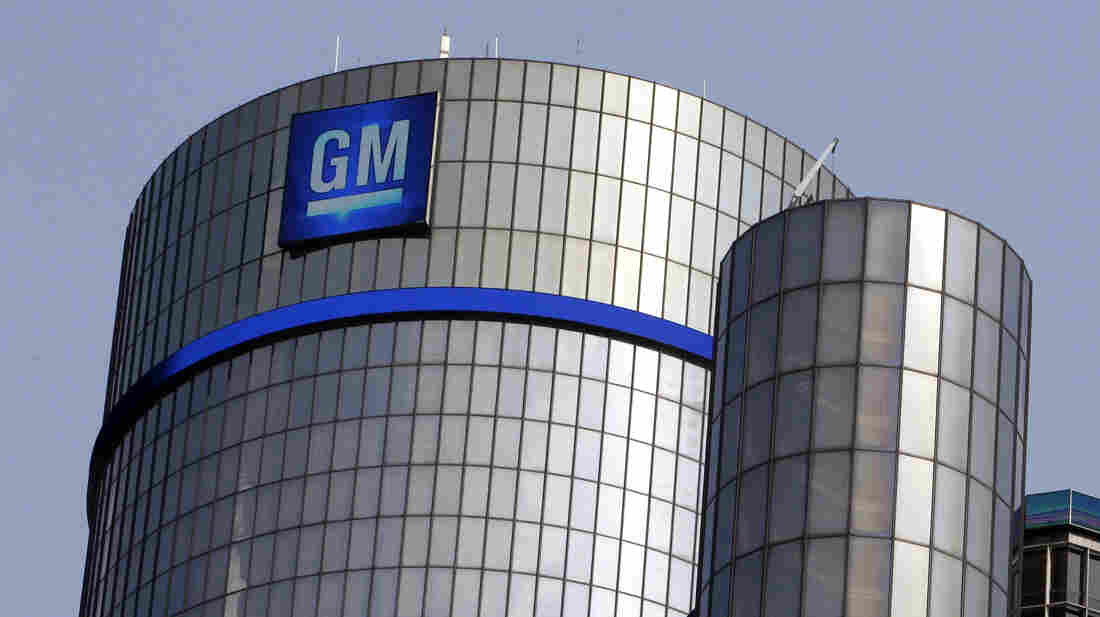 The General Motors headquarters in Detroit. The U.S. government bailout of GM and Chrysler has been a key economic issue in the presidential campaign.