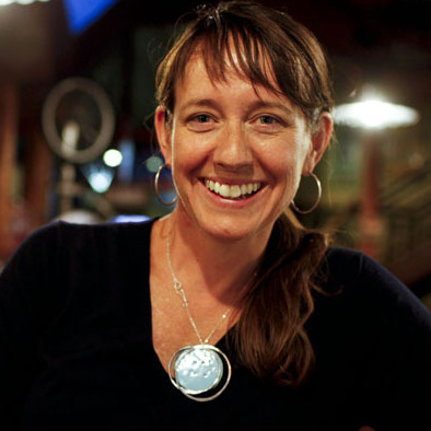 Jenn Vervier, the New Belgium Brewing Co.'s director of sustainability, says the brewery's energy-saving efforts include making ice at night, when it's colder.