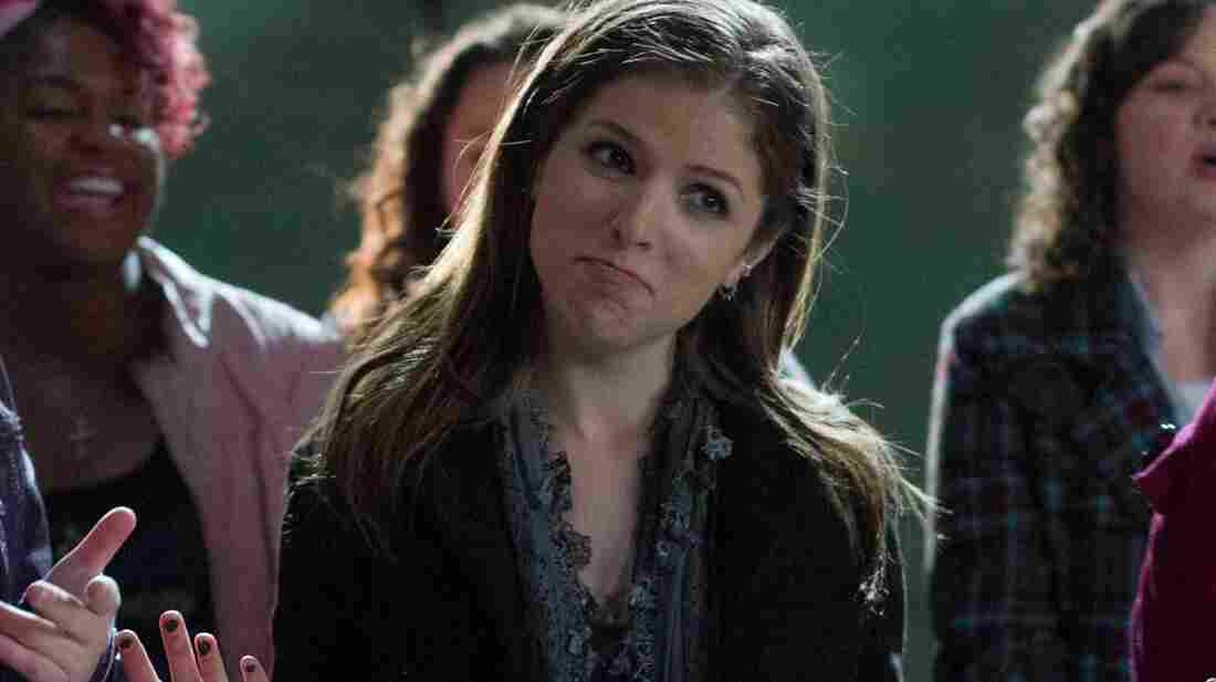 Anna Kendrick in Pitch Perfect.
