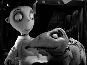 After his best friend and beloved dog dies, Victor Frankenstein (Charlie Tahan) decides to harness the power of mad science to bring Sparky back to life — albeit a little the worse for wear.