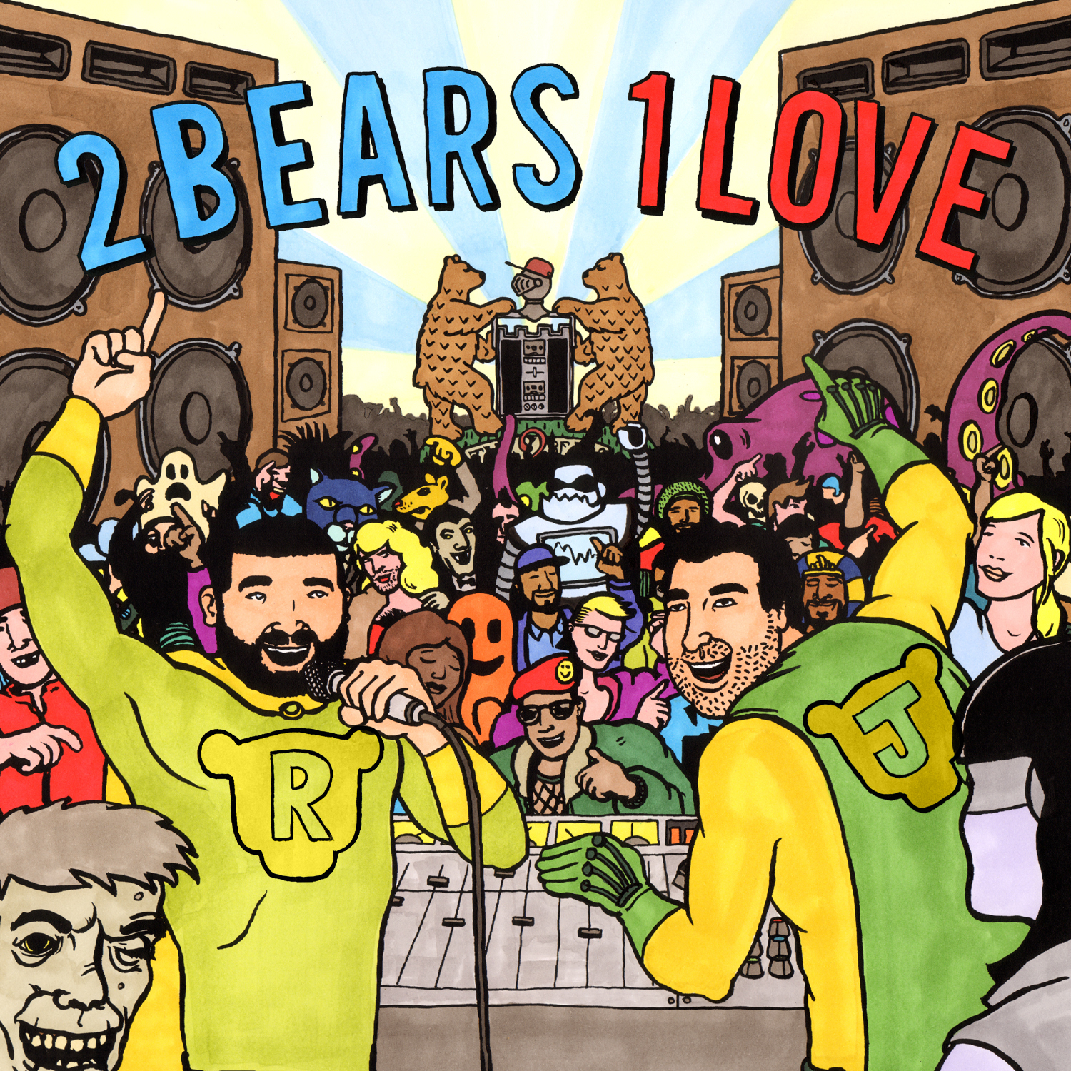 The 2 Bears' new mix, 2 Bears 1 Love.