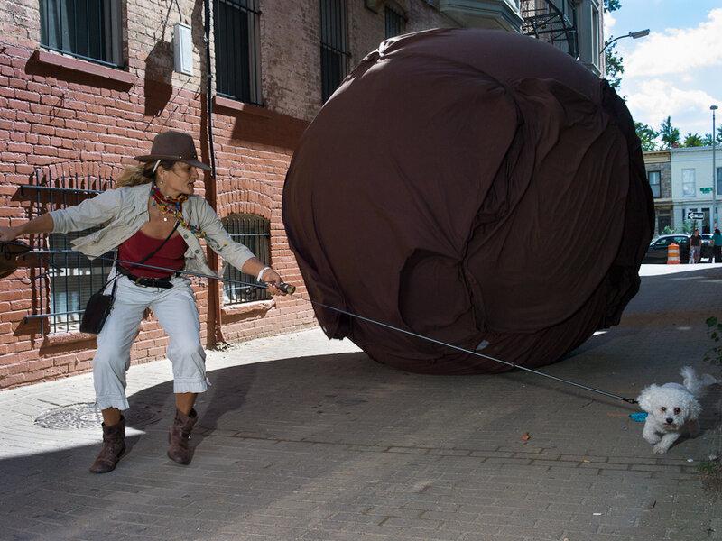 Re-Creating Indiana Jones' Boulder Run In D C 's 'Alley Of