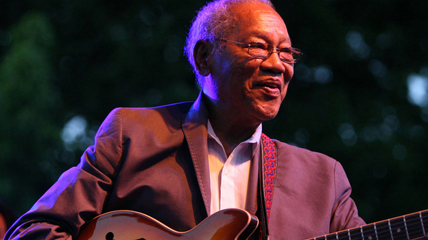 The collaborative album Avila is the latest release from pioneering guitarist Ernest Ranglin. (Courtesy of the artist)