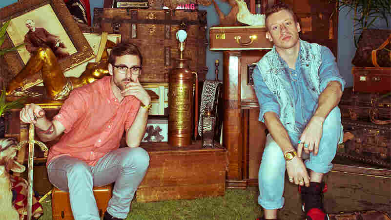 Macklemore & Ryan Lewis' new album, The Heist, comes out Oct. 9.