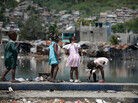 "Many Haitian children suffer from ""stunting"" due to inadequate nutrition. Health experts now are trying to prevent this with snacks made from peanut butter, fortified with vitamins and minerals."