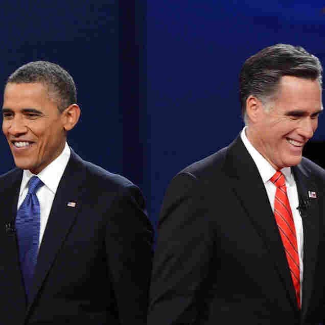 Romney, Obama Far Apart On Closing Budget Gap