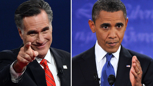 Romney vs. Obama. A question of style? (AFP/Getty Images)
