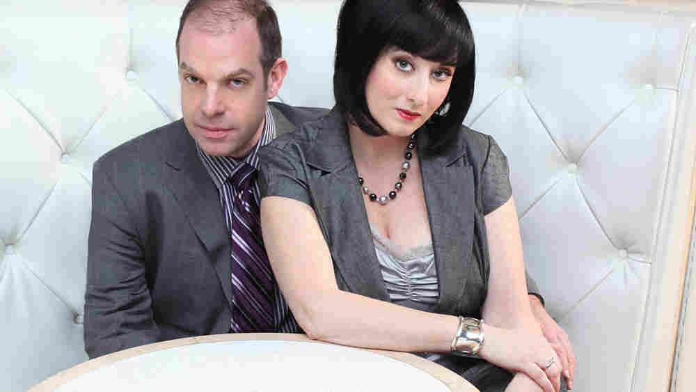 Bill Charlap and Renee Rosnes.
