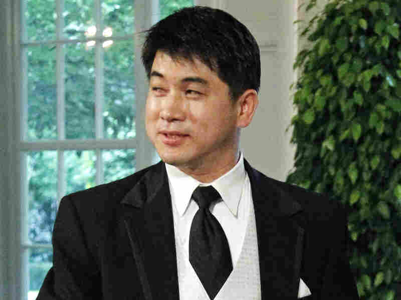 Olympic speedskating coach Jae Su Chun arrives for a State Dinner at the White House in May 2010. Chun is accused of verbally, physically and psychologically abusing various members of the U.S. short track team.