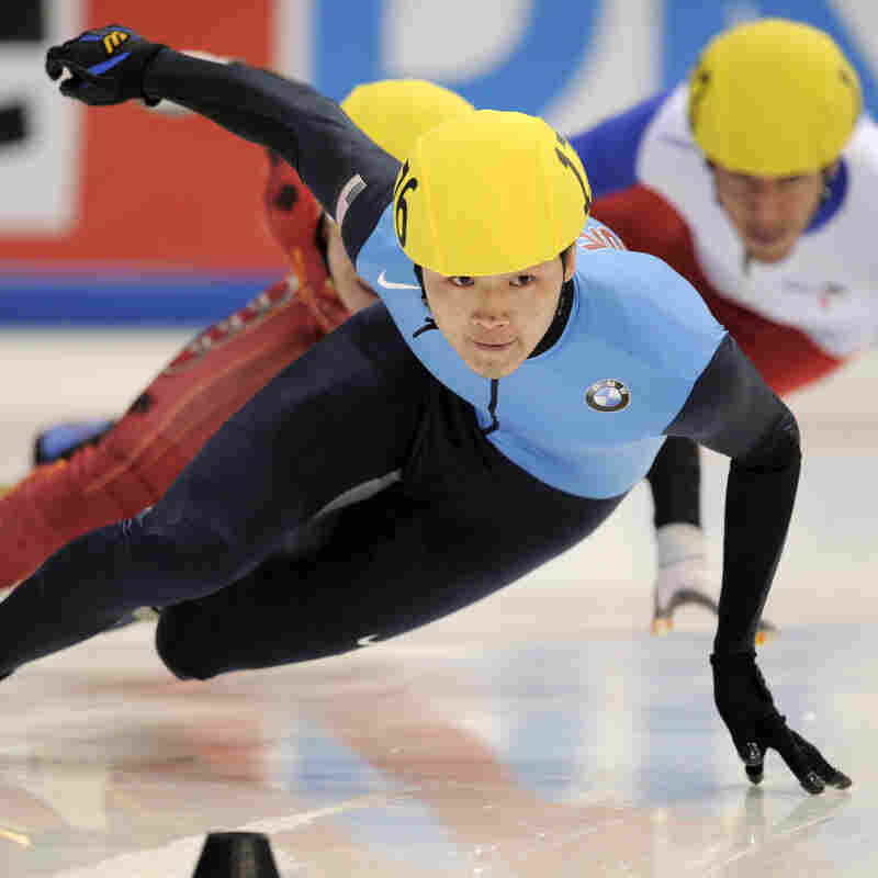U.S. Speedskater Admits To Sabotaging Rival's Skates