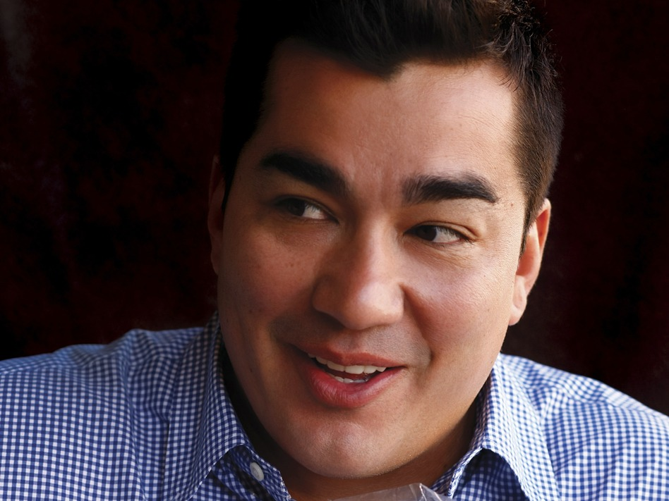 Chef Jose Garces published his first cookbook, Latin Evolution, in 2008. ( )