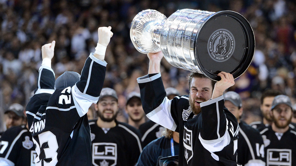 Last season, the Los Angeles Kings won the Stanley Cup. But when will they play next? (Getty Images)