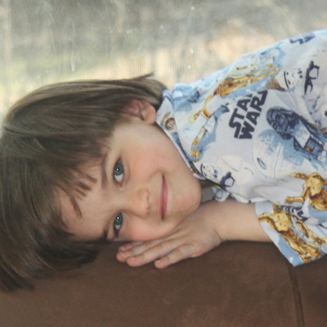 Ben Blier, 5, of Washington, D.C., is obsessed with Star Wars, especially the books and Legos, according to his mom, Nancy.