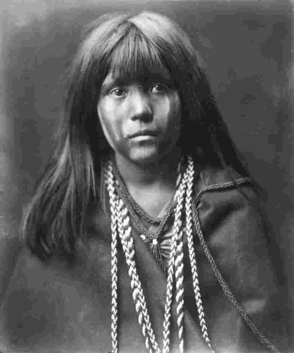 Mosa – Mohave, 1903. This is the picture that won over J.P. Morgan, who at first was reluctant to help Curtis with financial support.