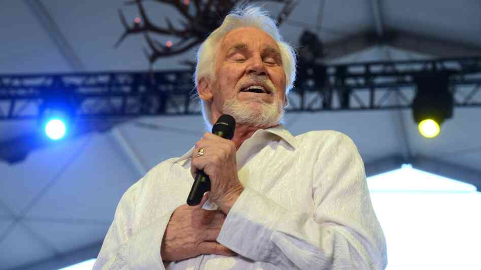 Kenny Rogers performs at the Stagecoach Country Music Festival in Indio, Calif., earlier this year.