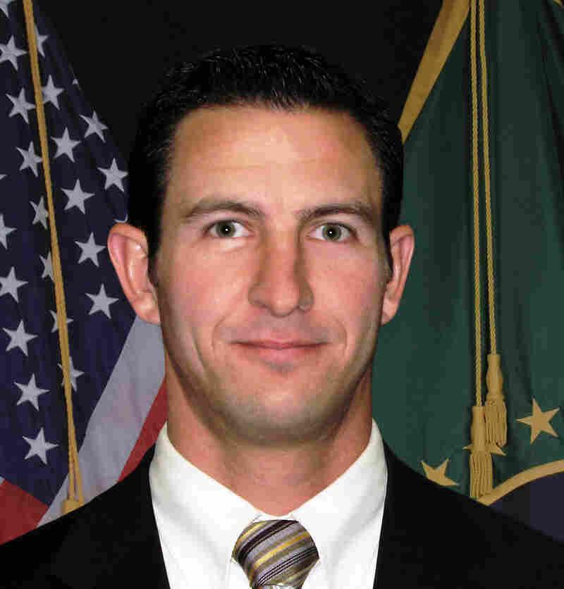 U.S. Border Patrol agent Nicholas J. Ivie.