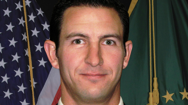 U.S. Border Patrol agent Nicholas J. Ivie. (AFP/Getty Images)