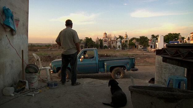A scene from El Velador.