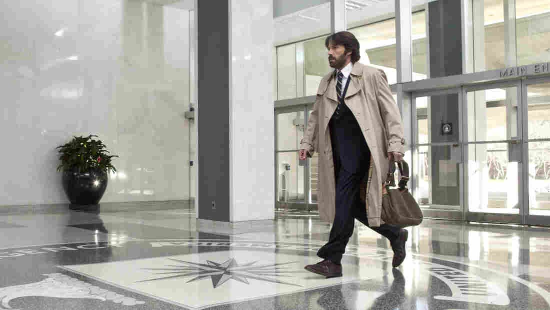 In Argo, Affleck plays CIA agent Tony Mendez, who must save six U.S. diplomats trapped in Iran.