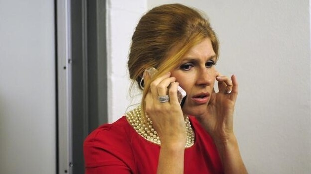 Country singer Rayna James (Connie Britton) has got a big voice, big hair and big problems in Nashville on ABC. (ABC)