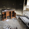 Damage inside the burnt U.S. consulate in Benghazi after an attack on the building Sept. 11.