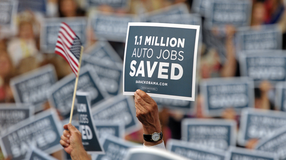 Democrats say the economy is growing and jobs consistently are being added. But Republicans note that the pace is far too slow to absorb the more than 12 million people still looking for work. (AFP/Getty Images)
