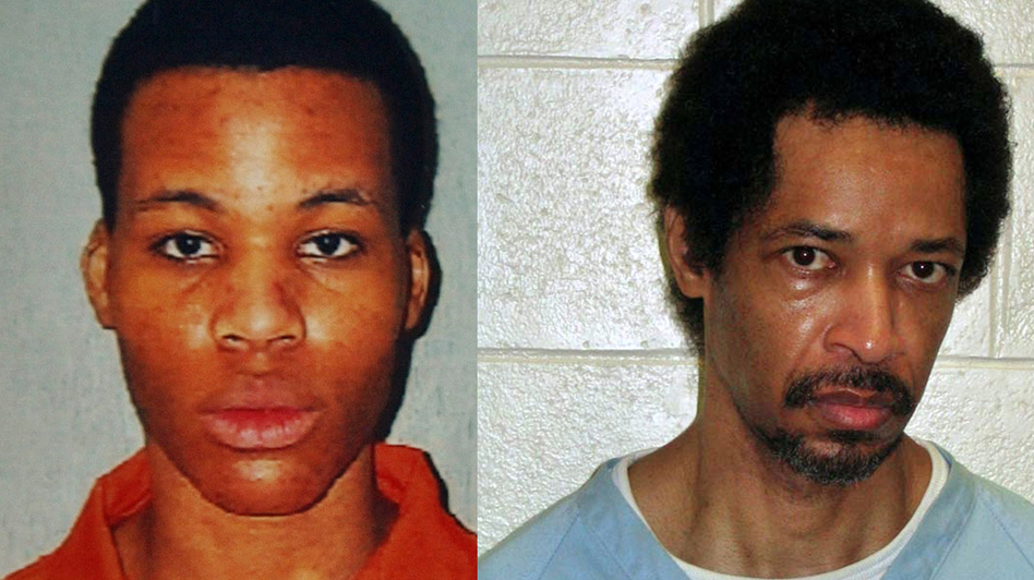 "Lee Boyd Malvo (left) and John Allen Muhammad became known as the ""D.C. Snipers."""