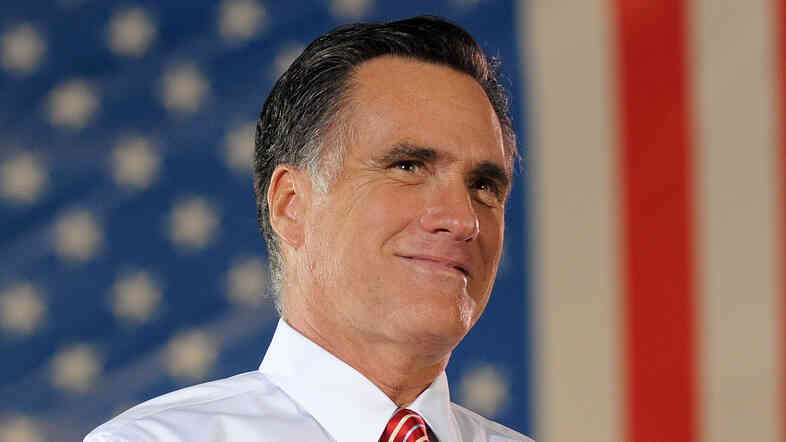Republican presidential nominee Mitt Romney during a rally in Fishersville, Va., on Thursday.