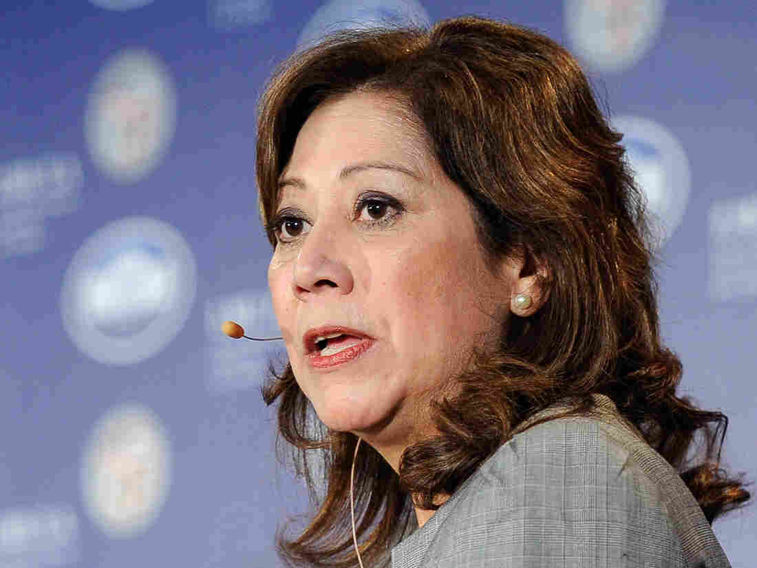 Labor Secretary Hilda Solis.