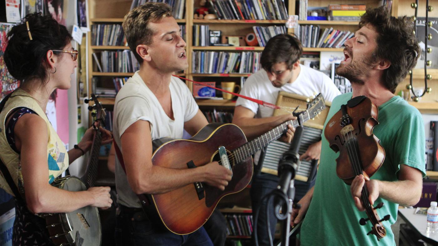 Andrea Echeverri: Spirit Family Reunion: Tiny Desk Concert : NPR
