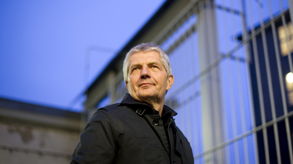 Roland Jahn, a former East German dissident, is now Germany's federal commissioner of the Stasi archives. His agency is painstakingly piecing together the shredded documents of the former East German secret police. Jahn is shown here in March 2011 at a former Stasi prison at Berlin-Hohenschoenhausen. (AFP/Getty Images)