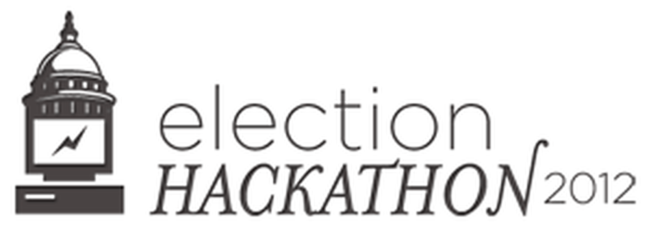 Logo for the 2012 Election Hackathon.