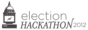 Logo for the 2012 Election Hackathon.