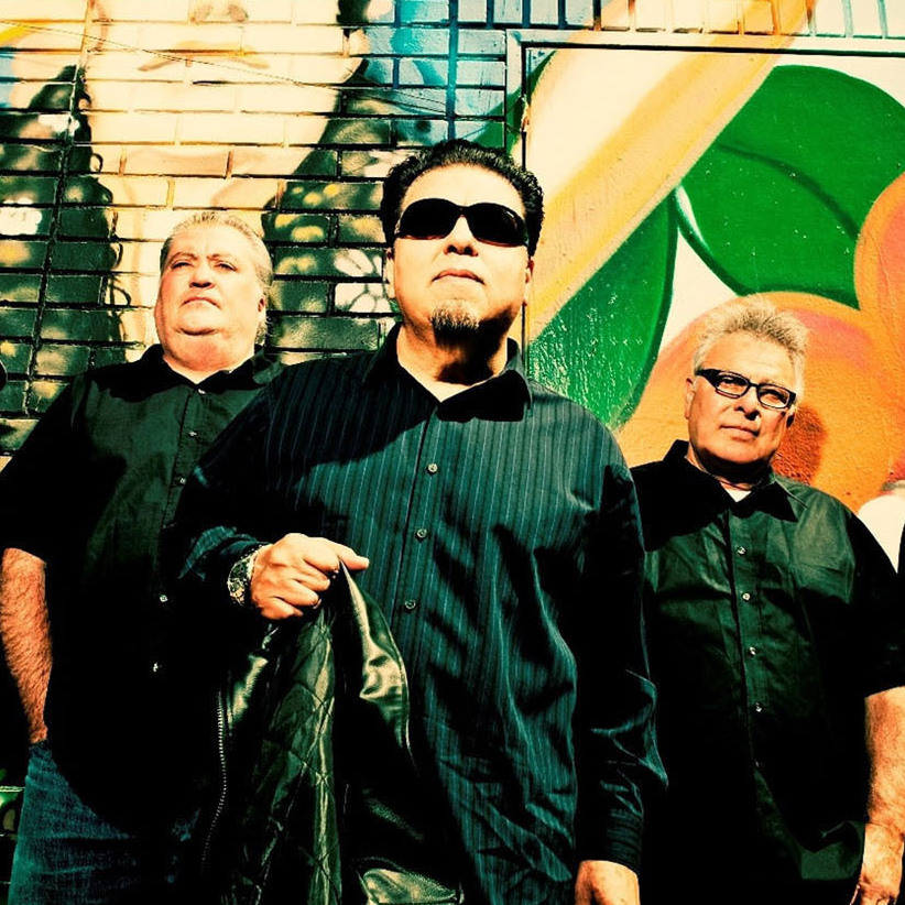 Grammy Award-winning band Los Lobos.