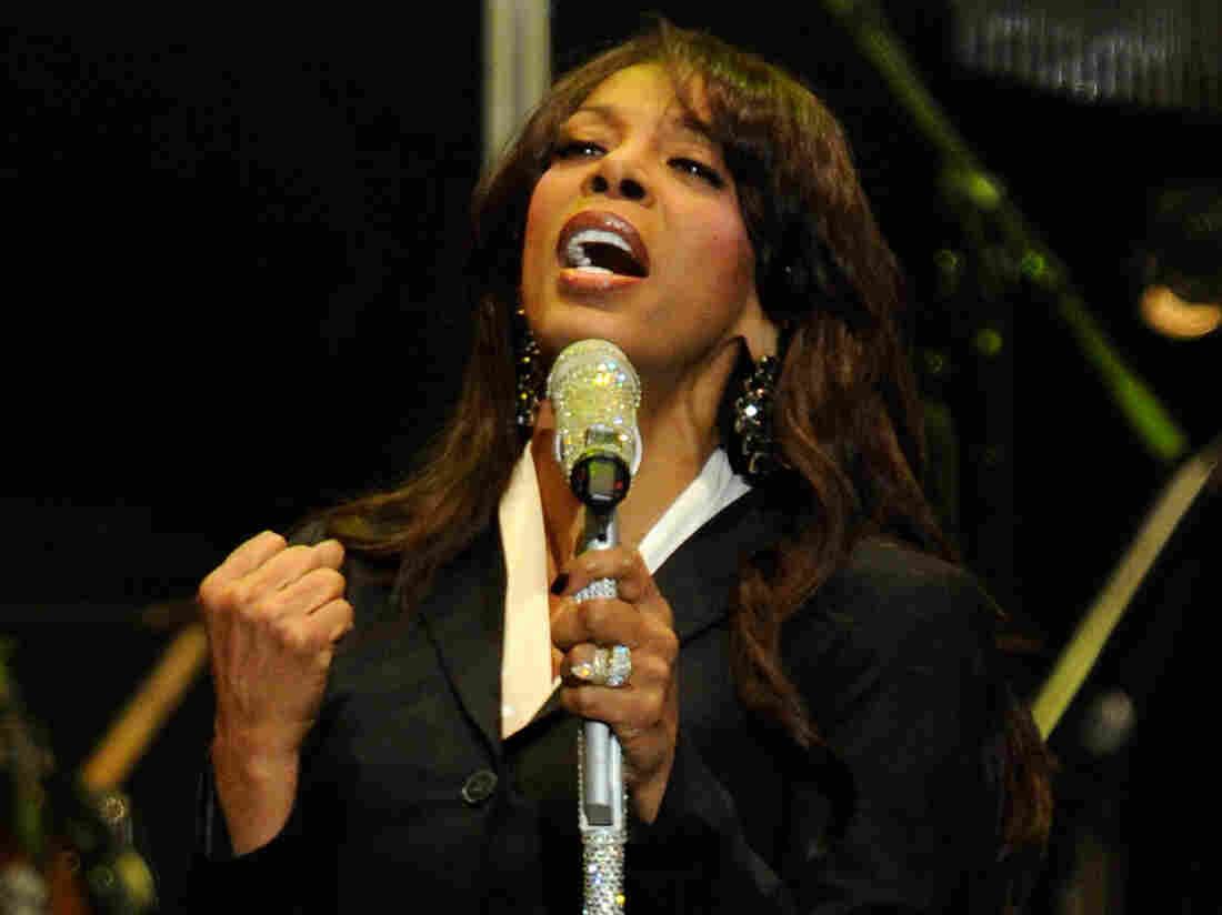 Donna Summer performs in October 2011