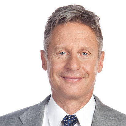 Gary Johnson, Libertarian Party nominee for president.