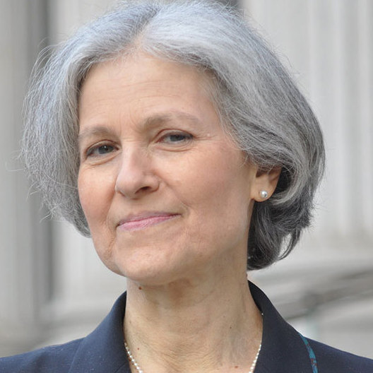 Jill Stein, Green Party nominee for president.