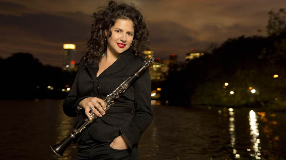 Anat Cohen's new album, her sixth as a bandleader, is called Claroscuro. (Jimmy Katz)