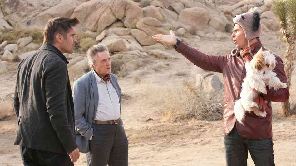 Crazy Funny: Seven Psychopaths centers on Marty (Colin Farrell), Hans (Christopher Walken) and Billy (Sam Rockwell), three Tinseltown oddballs with a sideline in dognapping.