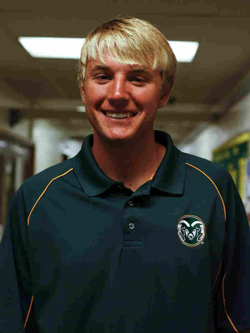 Tyler Marr, 20, Republican.