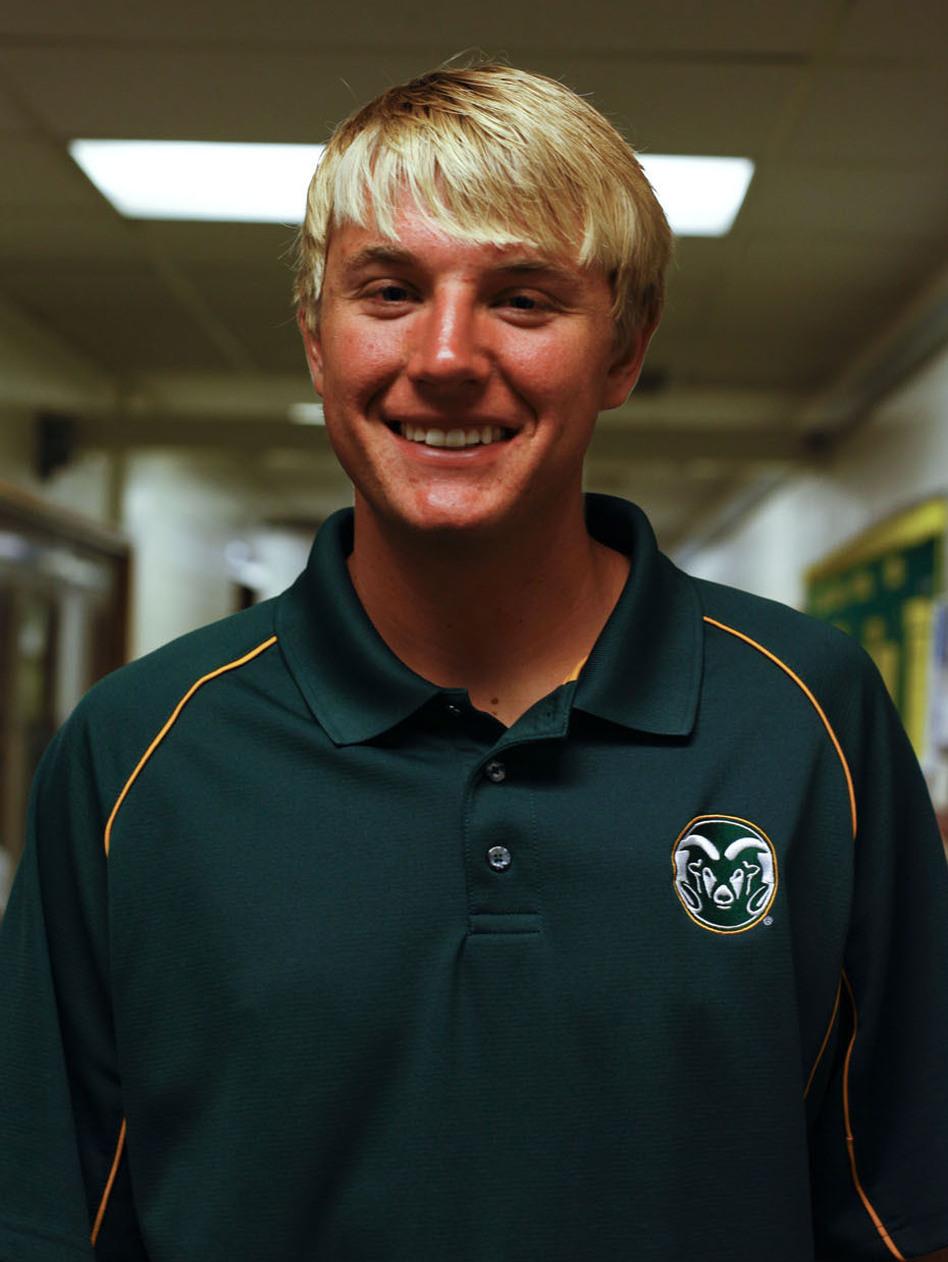 Tyler Marr, 20, Republican. (NPR)
