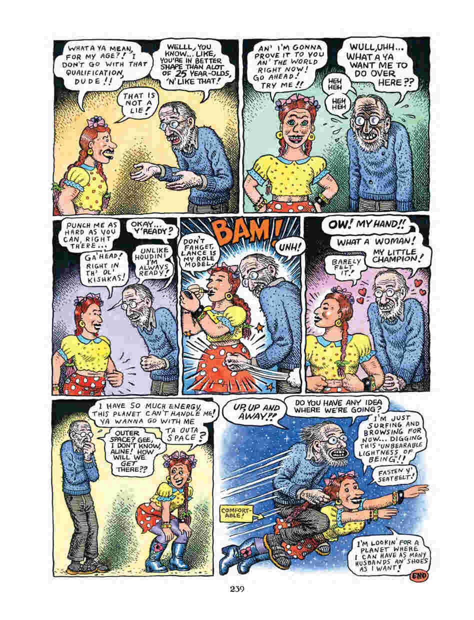 2: The legendary cartooning duo of R. Crumb and Aline Kominsky describe the ups and downs of their marriage, the obstacles faced by struggling artists and the way their lives changed after the birth of their daughter, Sophie.