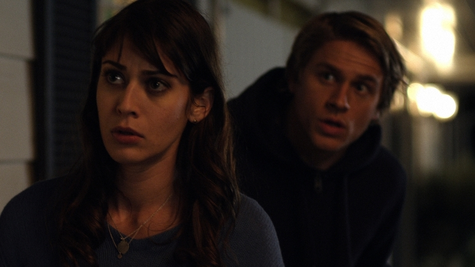 When he returns to L.A. to see his family, Frank meets Lassie (Lizzy Caplan), a woman who has almost as many relationship issues as he does. (Variance Films/Gravitas Ventures)