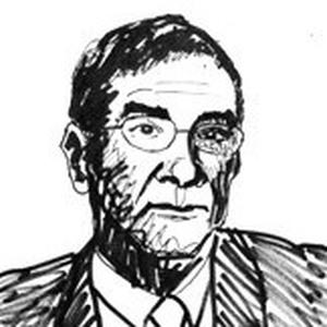 Serge Haroche. Illustration from the Nobel Prize website.