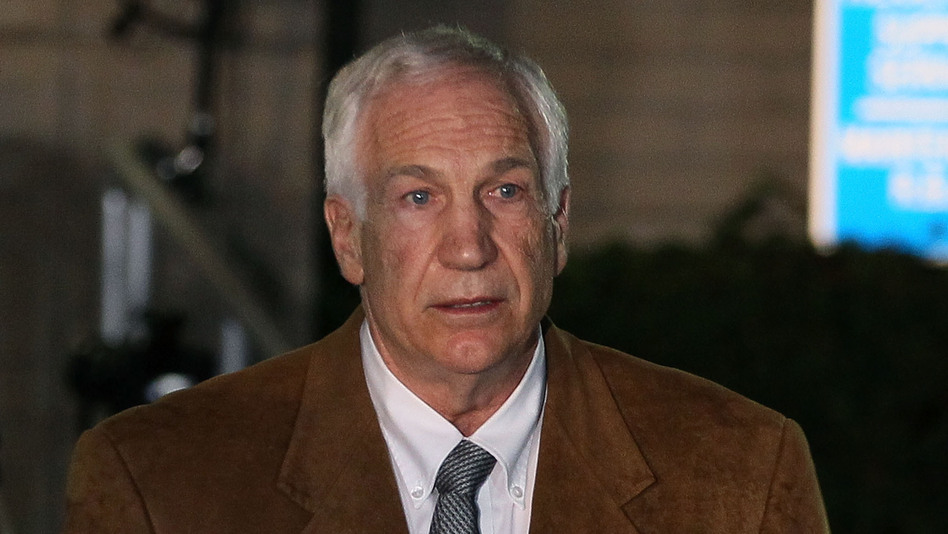 Jerry Sandusky, after his conviction in July. (Getty Images)