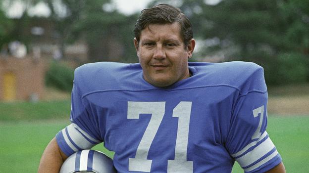 Alex Karras of the Detroit Lions in 1971. (AP)