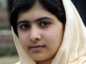 Malala Yousafzai in March 2012.