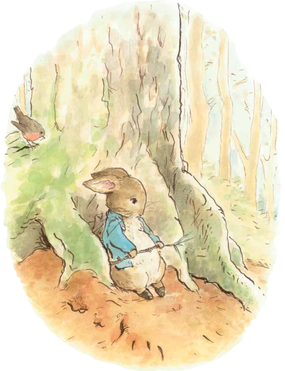 In Emma Thompson's new book, Peter Rabbit decides he needs a change of scene to cure his mopey mood.