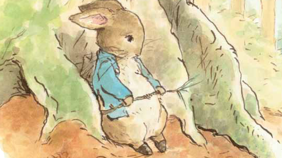 In Emma Thompson's new book, Peter Rabbit decides he needs a change of scene to cure his mopey mood. (Penguin Young Readers Group)