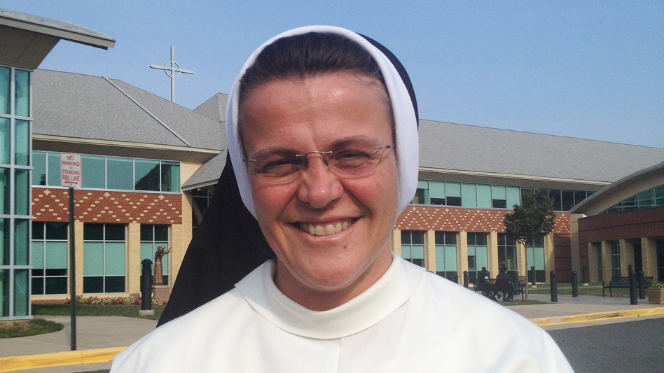 Sister Mary Jordon Hoover, principal of Pope John Paul the Great Catholic High School in Dumfries, Va., is a member of the Dominican Sisters of St. Cecilia. The order falls under the jurisdiction of the Council of Major Superiors of Women Religious, a more conservative organization. (NPR)